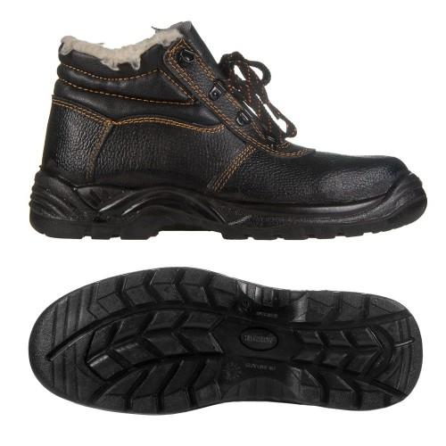 Ботинки юфтевые Е765 на ПУП зимние арт.: 7512
