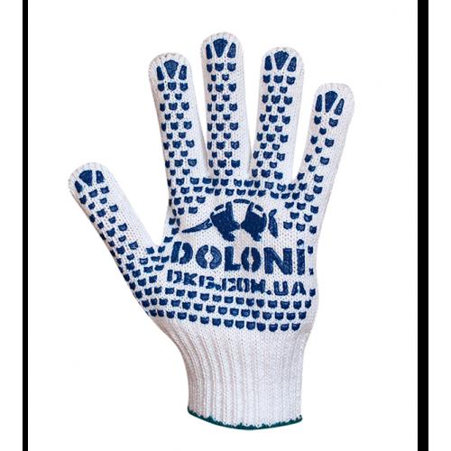 Перчатки трикотажные с двусторонней ПВХ точкой 580 арт.: 4180