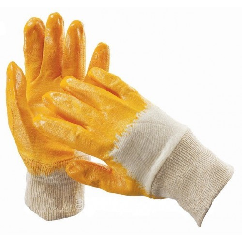 Перчатки рабочие х/б покрытые нитрилом арт.: 4225
