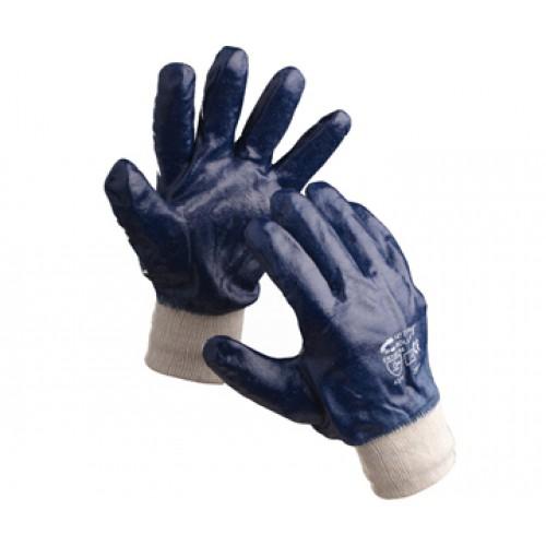 Перчатки х/б с полным покрытием нитрилом вяз. манжет арт.: 4240