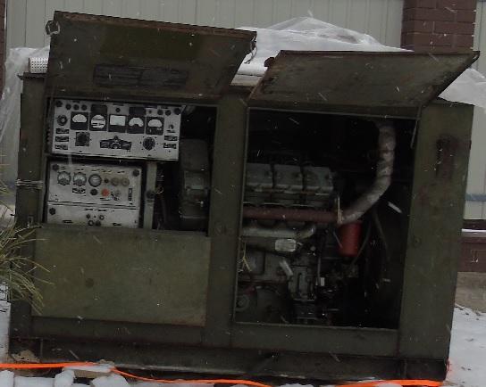 Купить Генератор дизельный АД-30 (Неман 8ч 9.5 10) 30 кВт ( 36 кВа) . Конверсия.