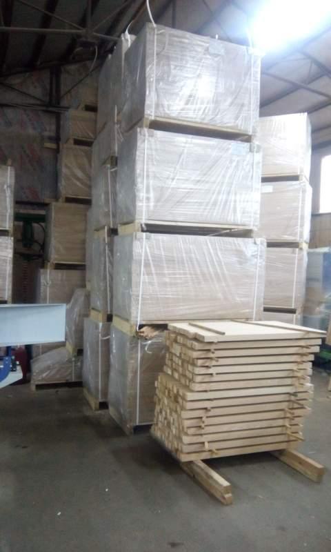 Заготовка щитовая клееная из древесины