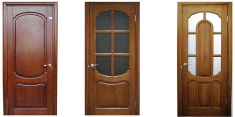 Дверь входная дубовая