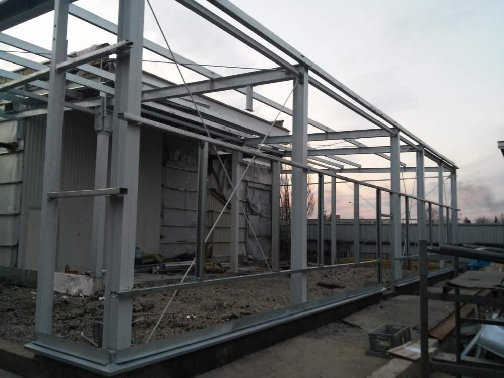 Metallkonstruktion för byggnader