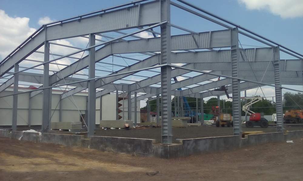 Buy Prefabricated buildings of metal constructions