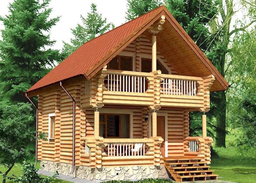 Купить Дом из дерева 32