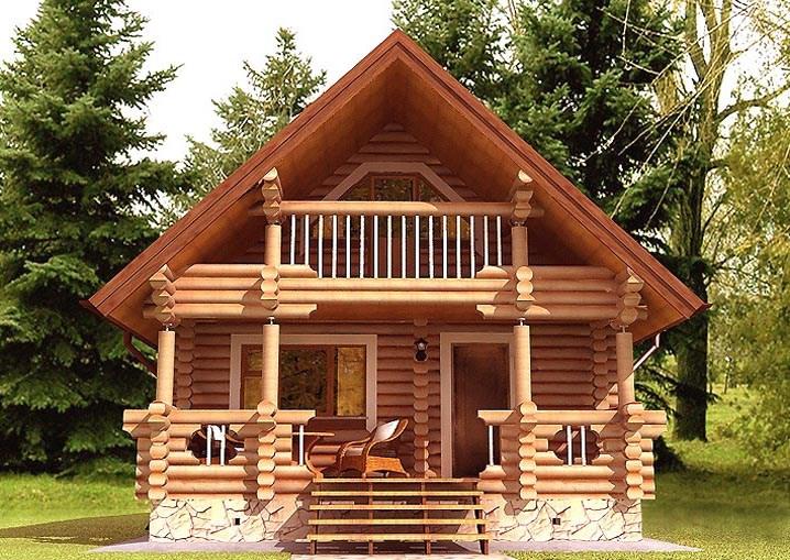 Купить Дом из дерева 31
