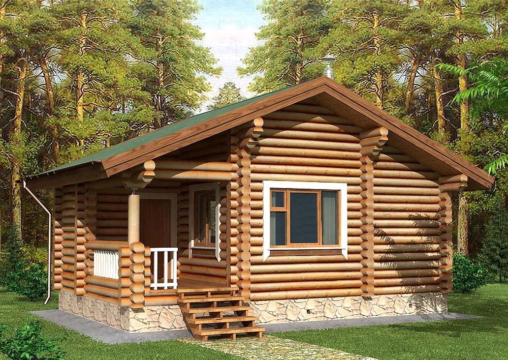 Купить Дом из дерева 18