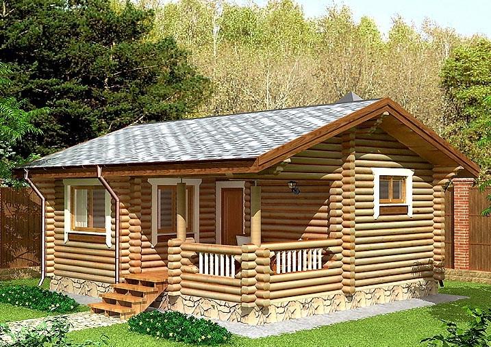 Купить Дом из оцилиндрованного бревна 15