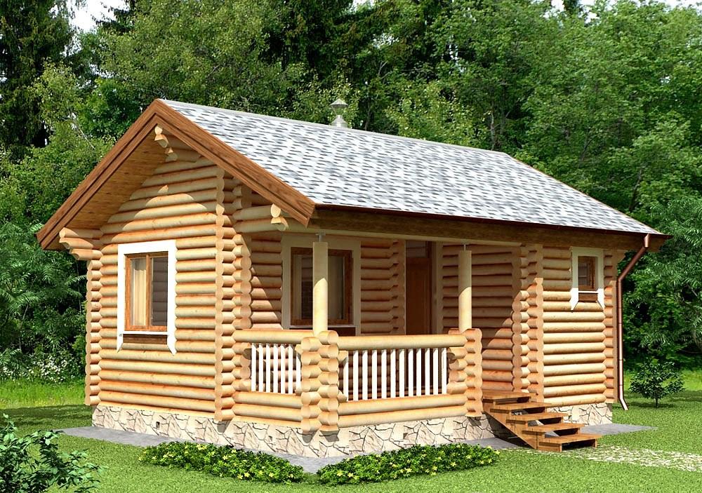 Купить Деревянный дом 3