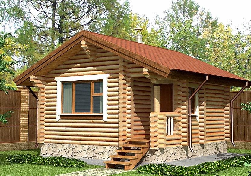 Деревянный дом 4