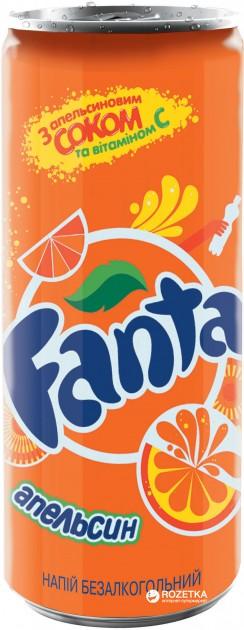Вода Fanta 0,25л ж/б