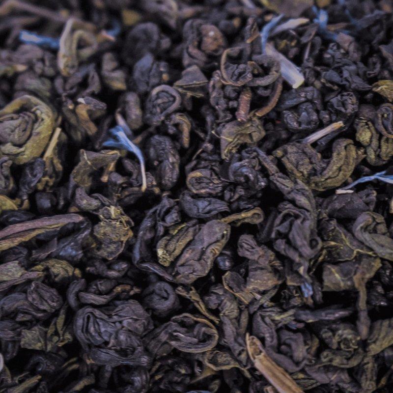 """Черный чай Susan-tea """"Черника"""" 100г"""