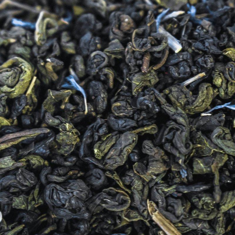"""Зеленый чай Susan-tea """"Черника"""" 100г"""