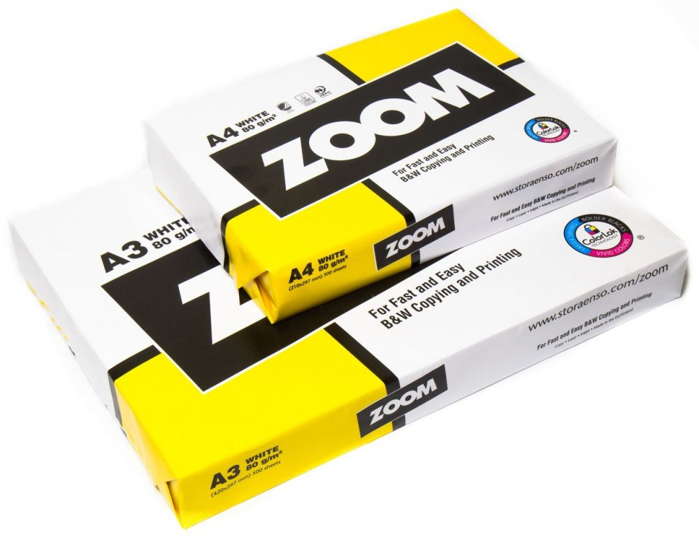 Бумага Zoom A3