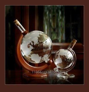 Стеклянный глобус VIP подарок