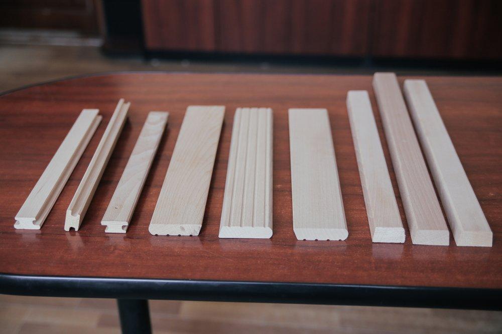 Профильные изделия из буковой древесины