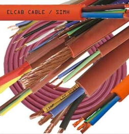 Heat-resistant wire of SIMH 2x1