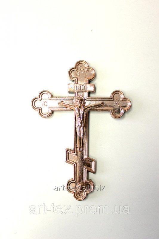Крест средний металлизированный