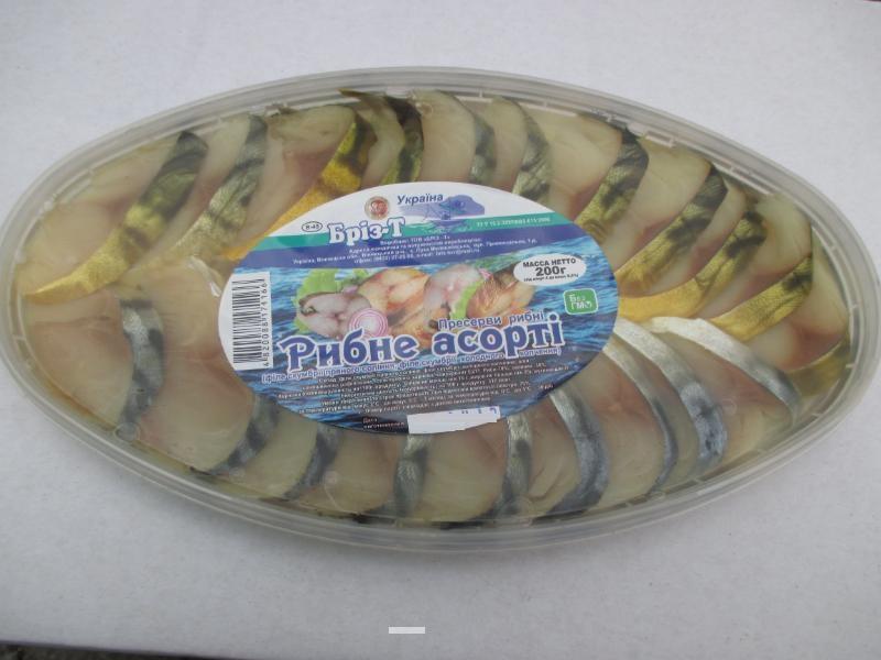 Рыбное ассорти скумбрии, 200 г