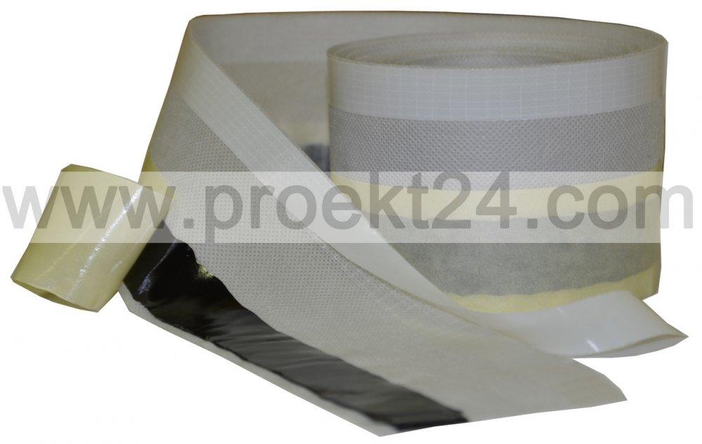 Купить Паропроницаемая оконная лента 80мм*25м (наружная, гидроизоляционная)