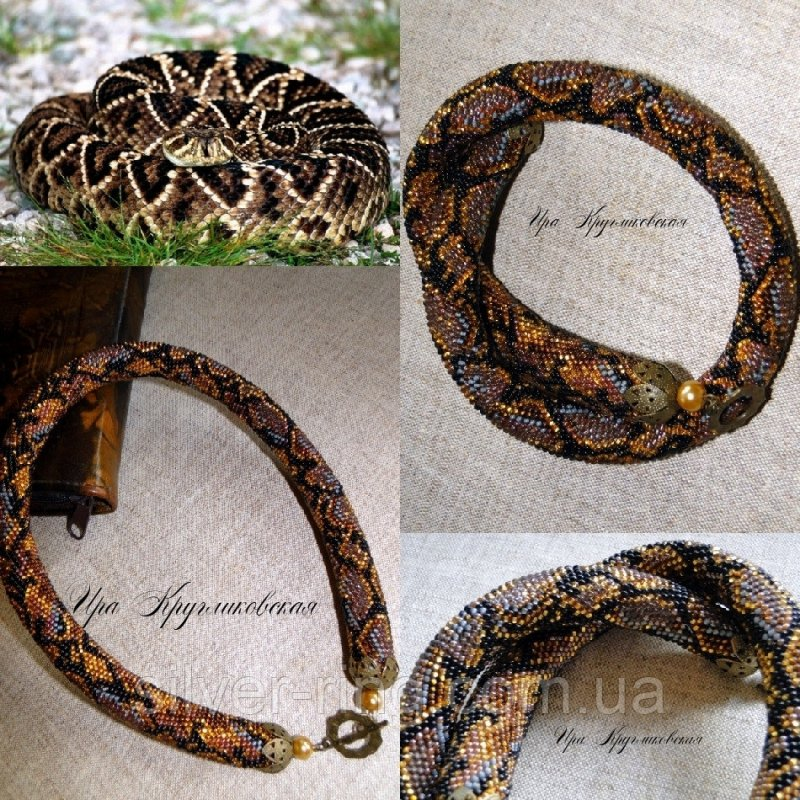 """Buy Plait from beads """"Python"""" P 041"""