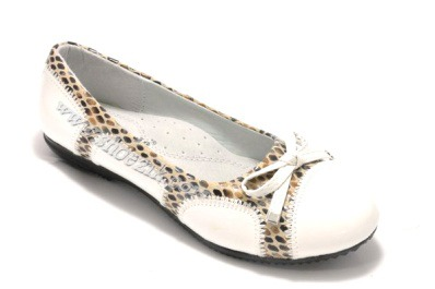"Buy Shoes for the girl ""Bow"" of ""Calorie"", white, 33(32-37), 33 2977441147664"