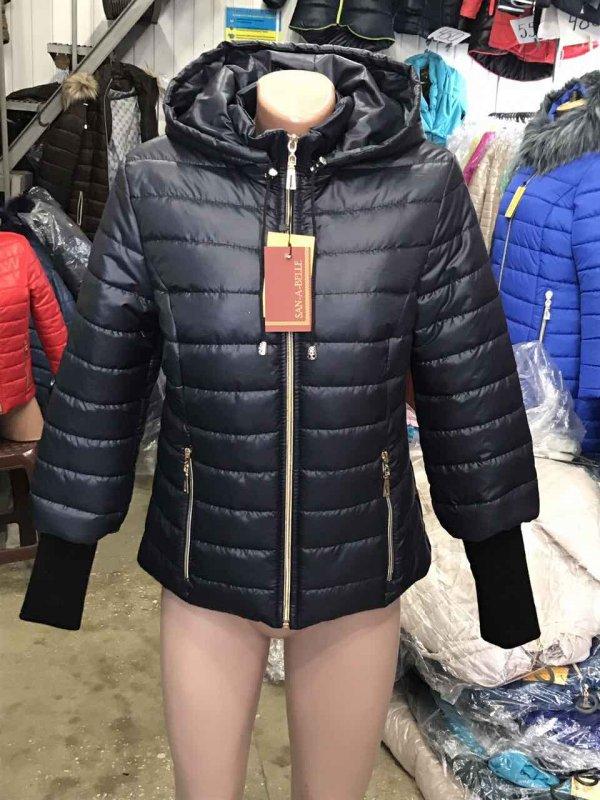 Куртка женская весенняя, модель Довяз, цвет темно-синий