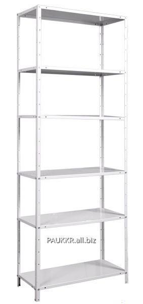 Стеллаж для хранения товаров полочный 1800х900х600 (4 полочки)