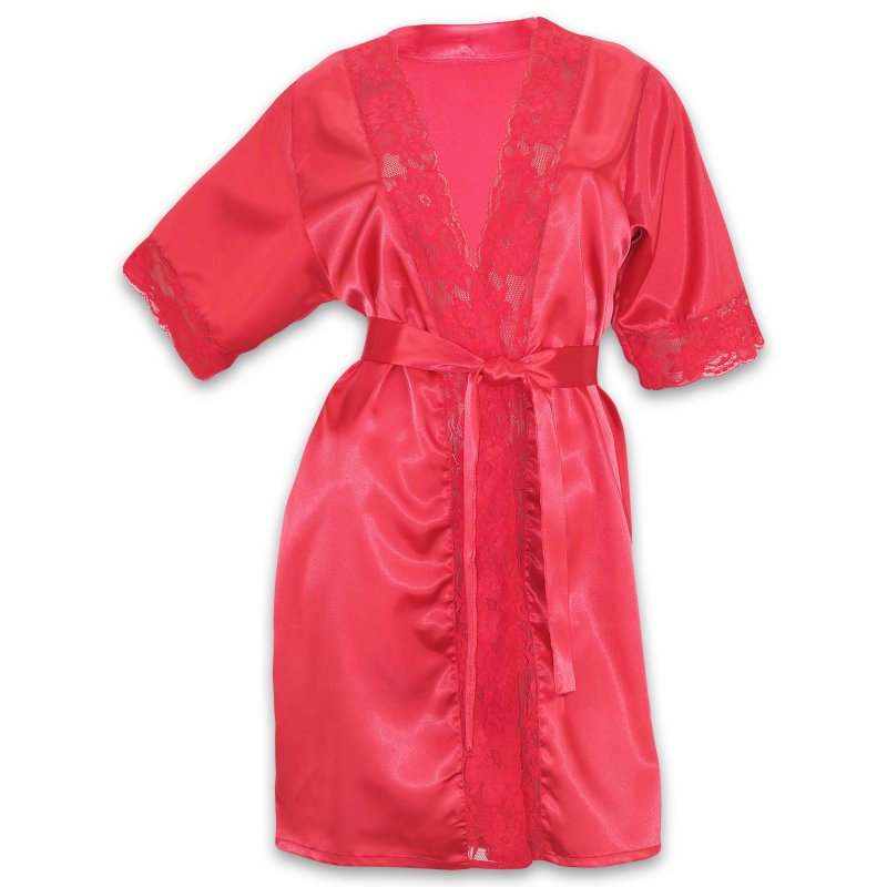 Dressing gown female satin Serenade buy in Kiev
