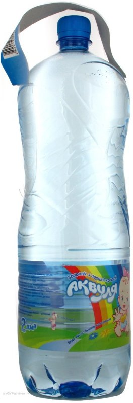 Вода Аквуля негазированная пластиковая бутылка 2000мл Украина