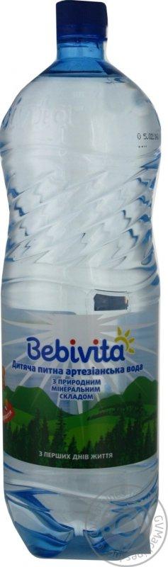 Вода Бебивита детская с первых дней жизни 1500мл Украина