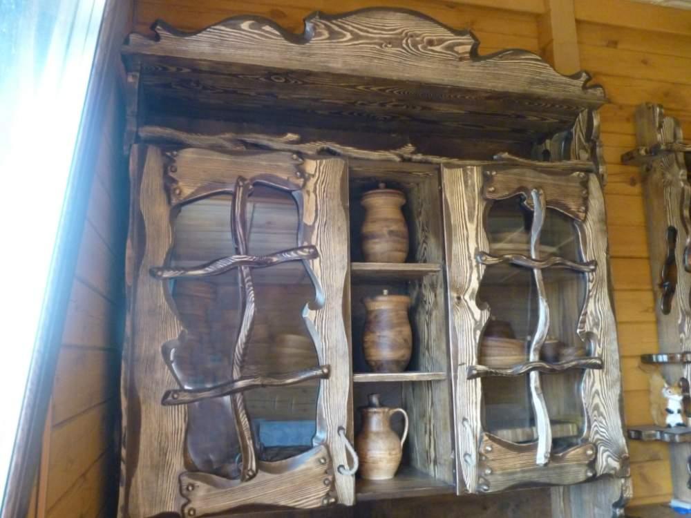 Купить Шкаф навесной под старинку