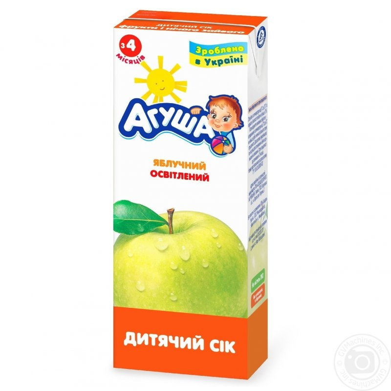 Агуша сок 0,2л яблоко