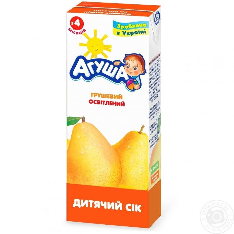 Агуша сок 0,2л груша