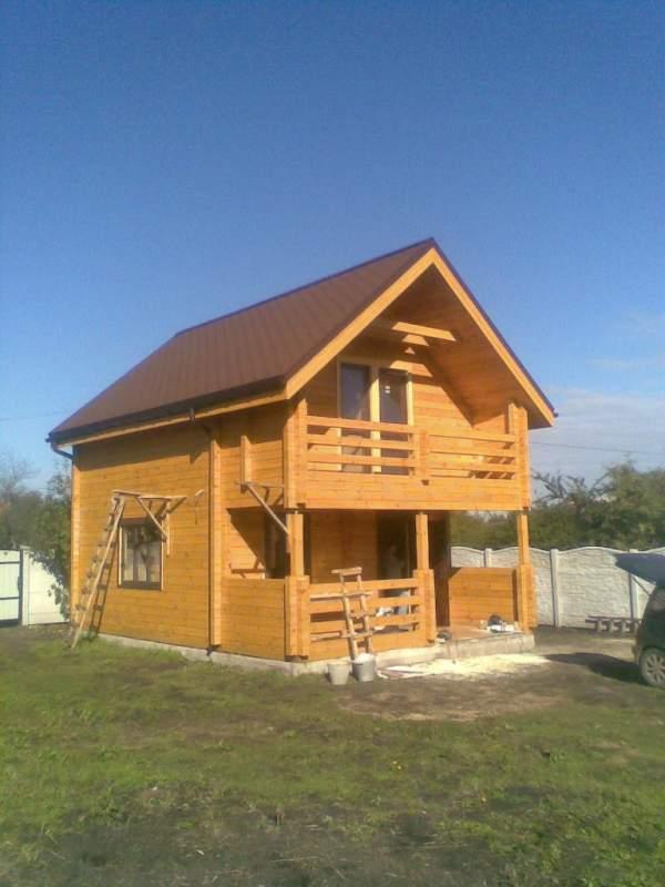 Купить Деревянный дом частный