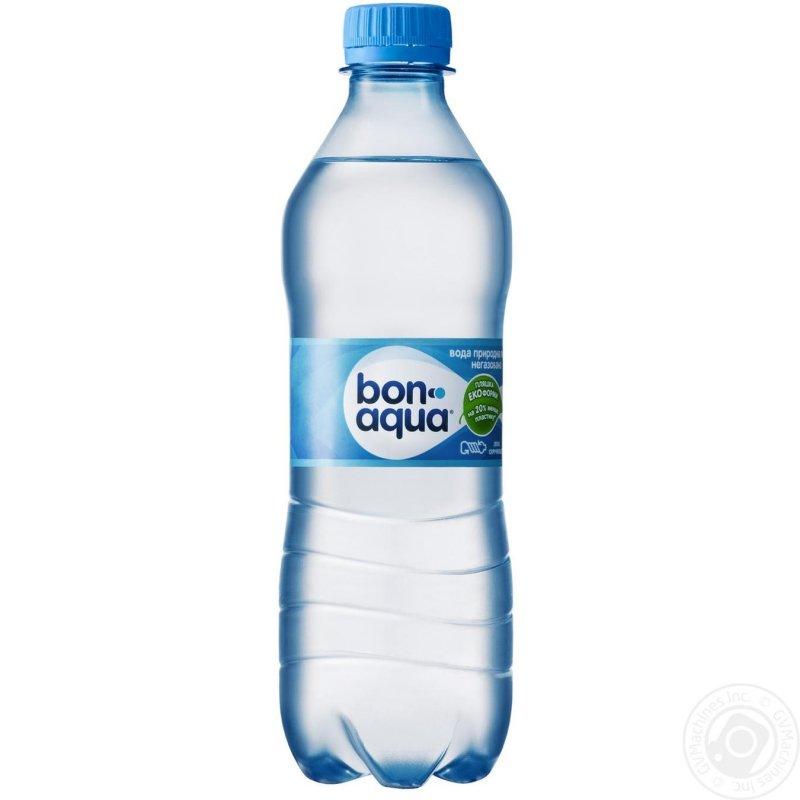 Вода Бонаква негазированная пластиковая бутылка 500мл Украина