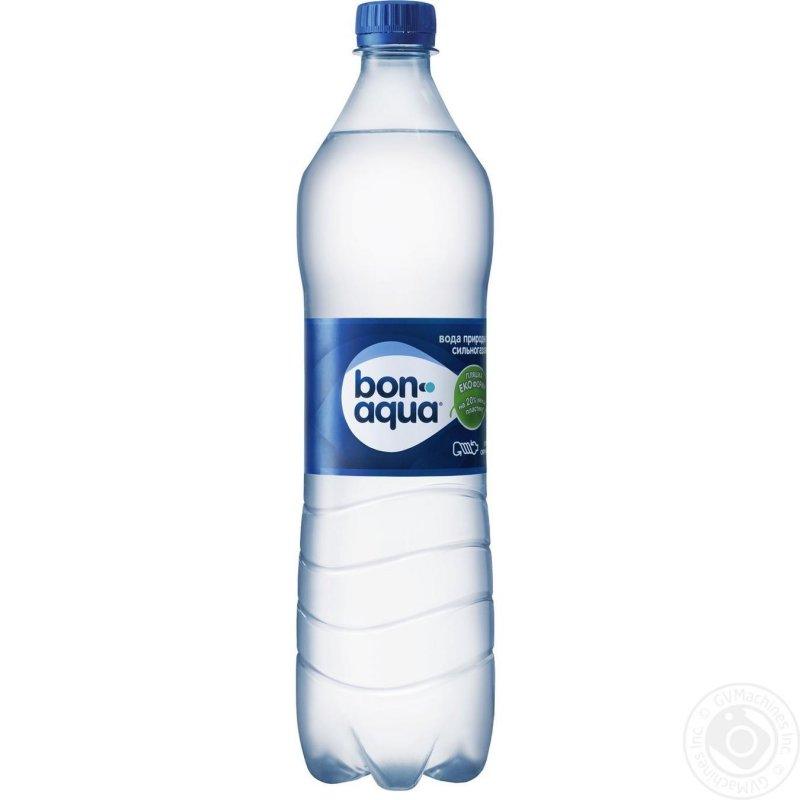 Вода Бонаква сильногазированная пластиковая бутылка 1000мл Украина