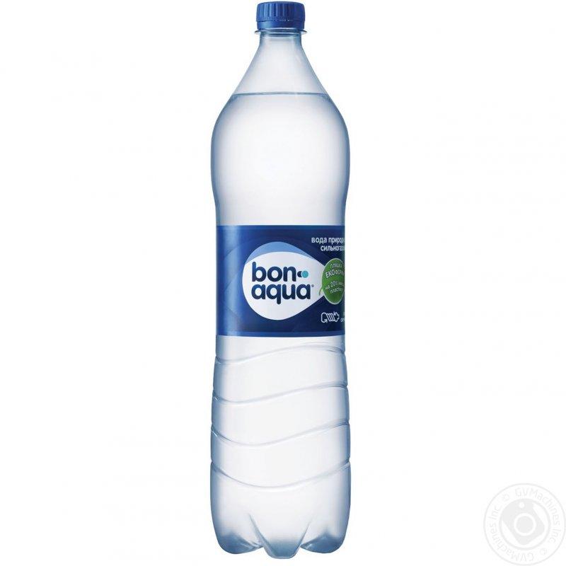 Вода Бонаква сильногазированная 1500мл пластиковая бутылка