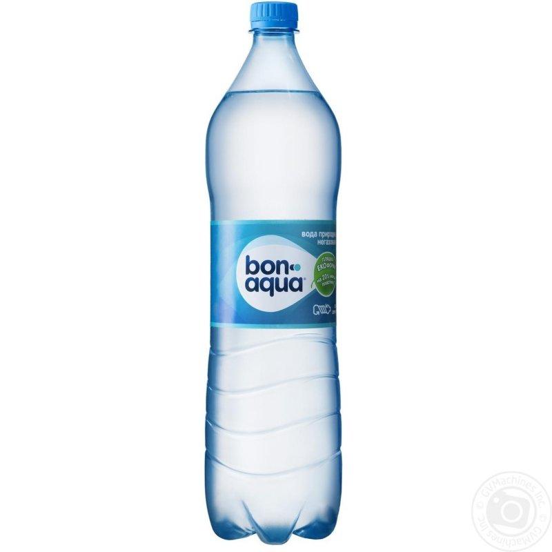 Вода Бонаква негазированная пластиковая бутылка 1500мл Украина