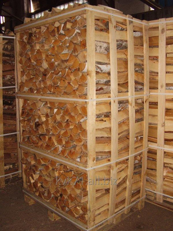 We take the order for production of firewood chipped of strong breeds of wood