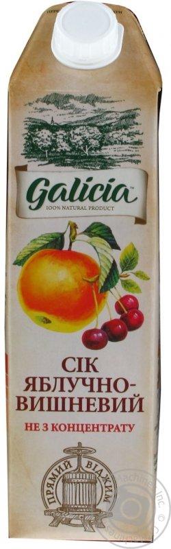 Galicia сік 1л яблучно-вишневий
