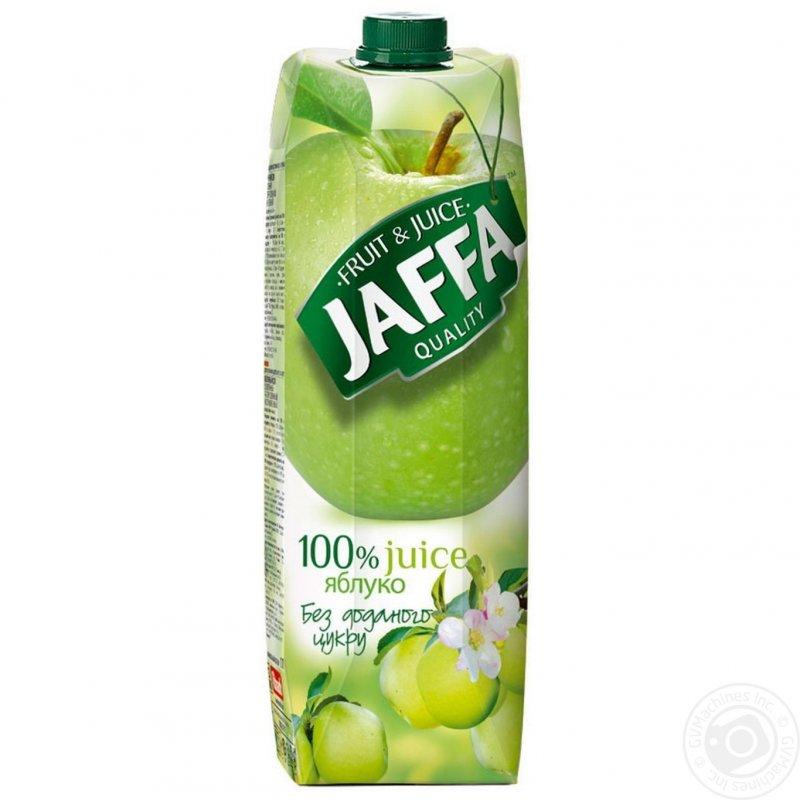 Jaffa сік 1л яблучний