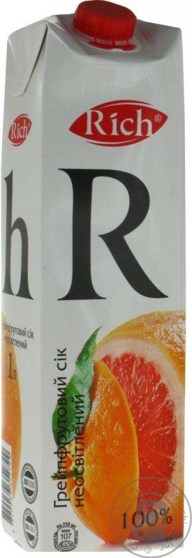 Rich сік 1л грейпфрут