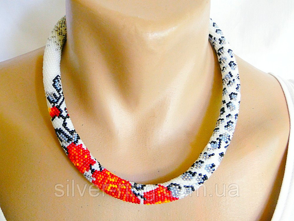 Buy Ornament from beads - a plait P 042
