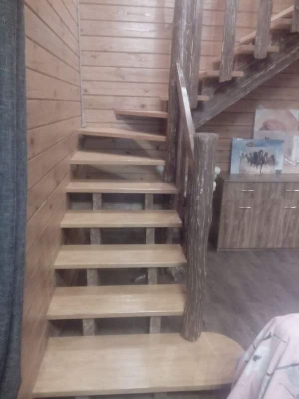 Купить Винтовая лестница из дерева
