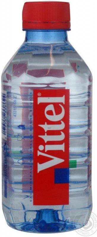 Вода Виттель негазированная пластиковая бутылка 330мл Франция