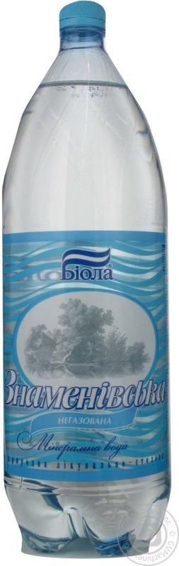 Купить Знаменовская вода негаз МІН 2Л