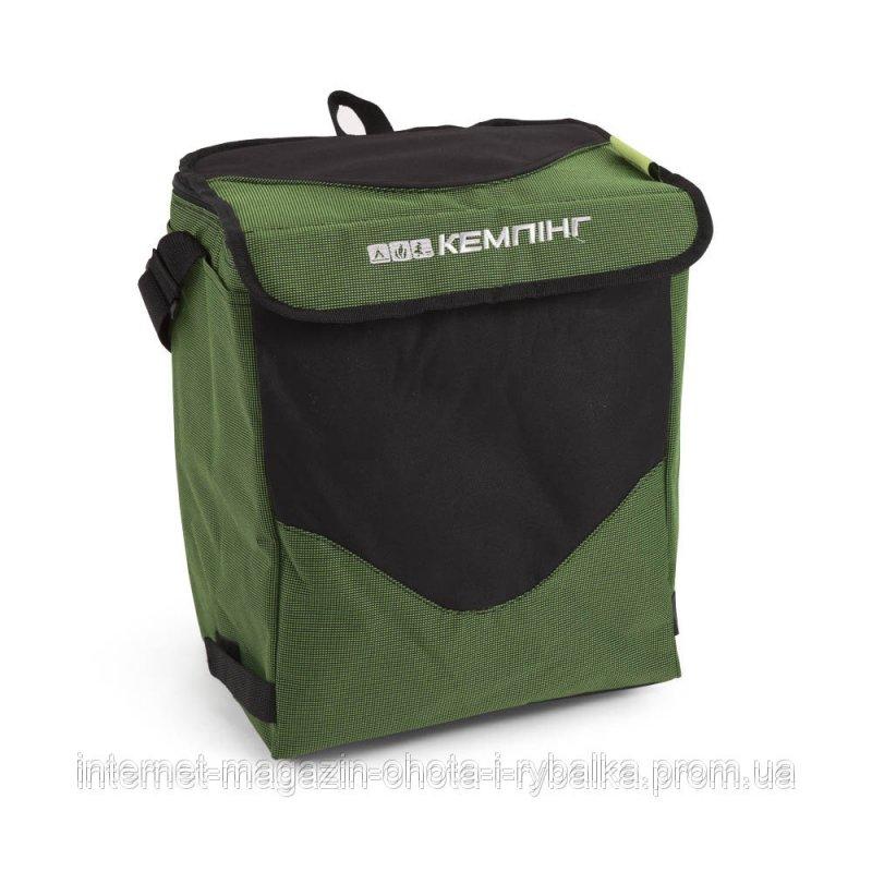 Cумка холодильник 19 литров, Изотермическая сумка КЕМПИНГ Пикник HB 5-717