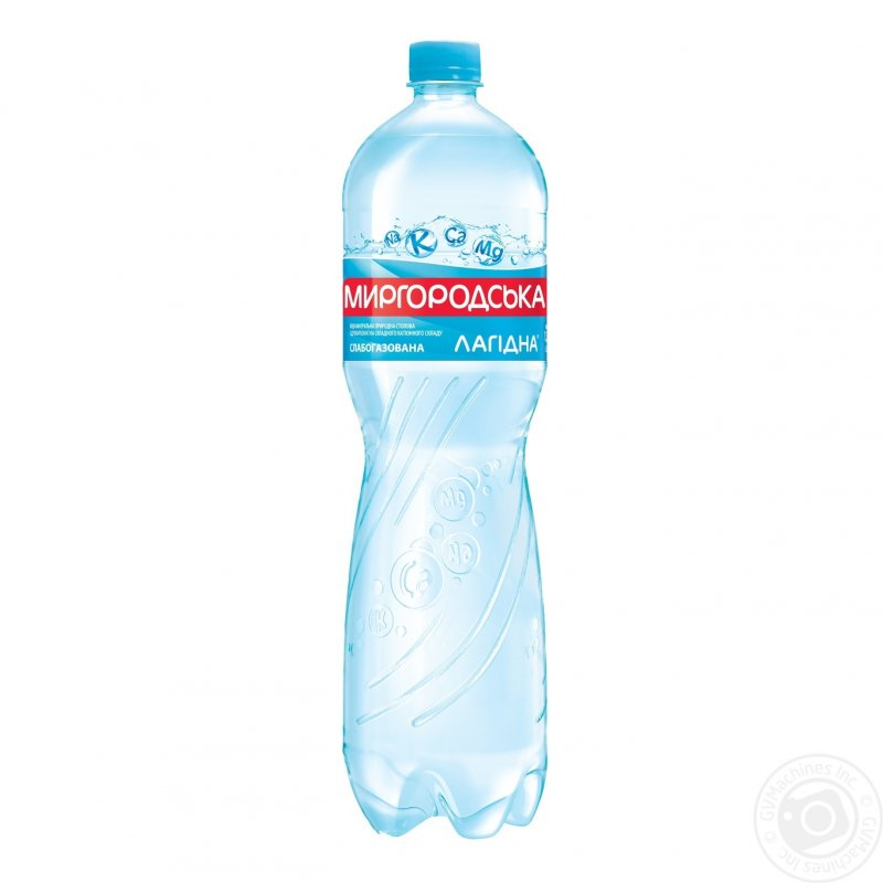 Buy Mineral water Mirgorod Lagidna natural slabogazirovanny plastic bottle of 1500 ml Ukraine